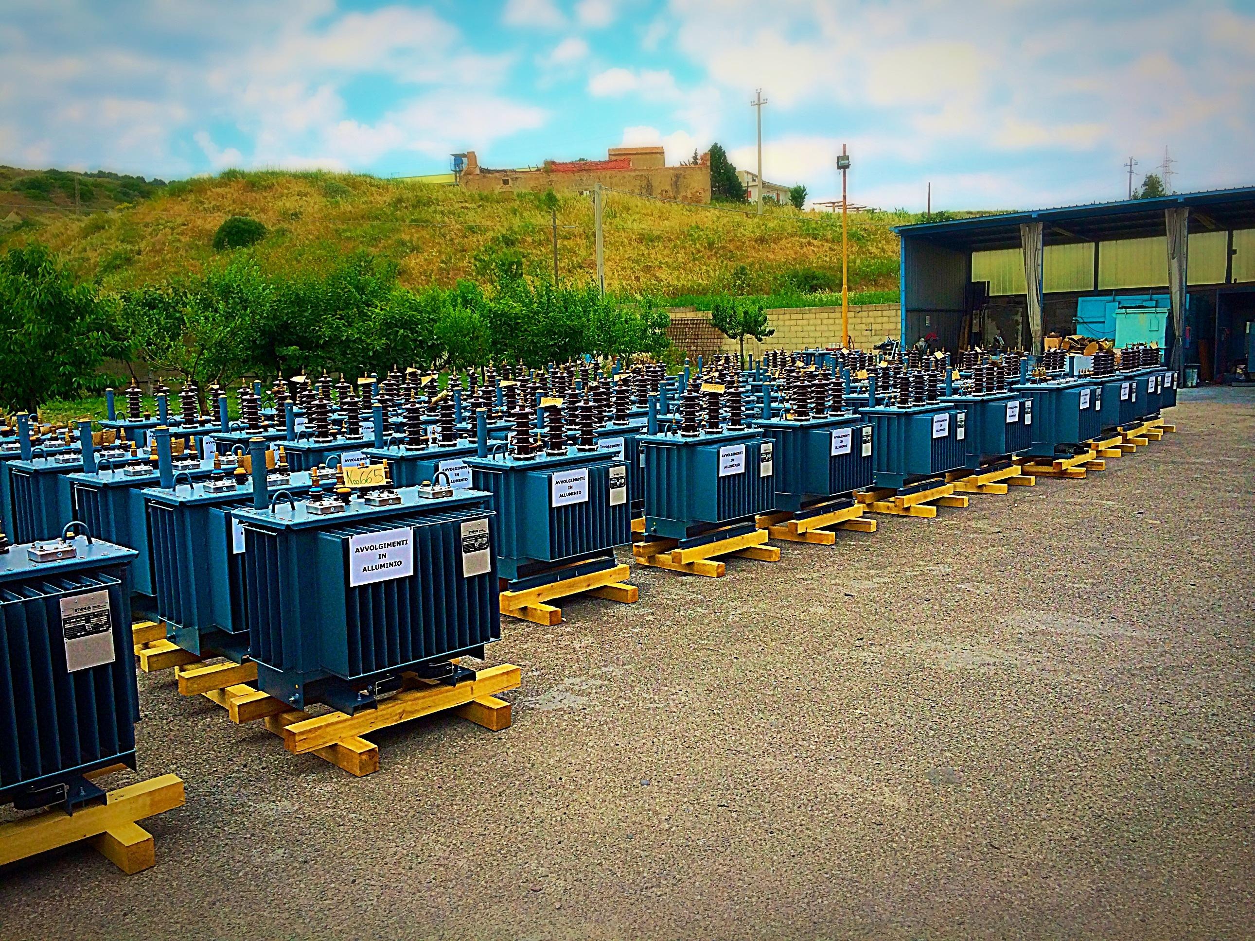 Trasformatori MT BT in olio