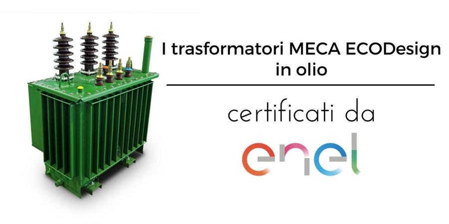 Trasformatori EcoDesign certificati ENEL