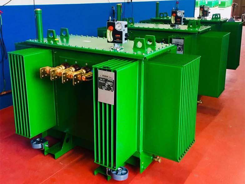 produzione trasformatori - 1 MVA oil TRANSFORMER