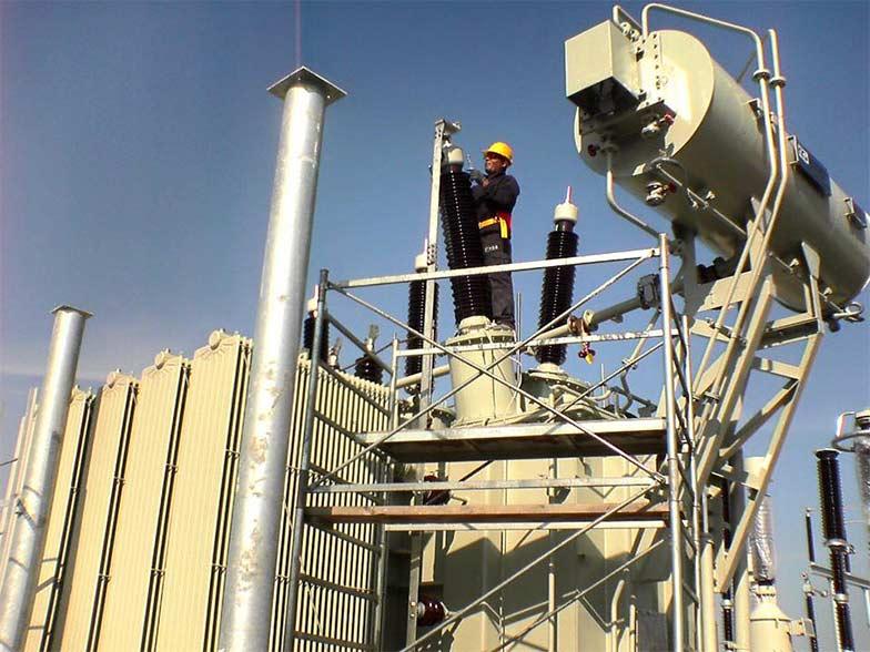 produzione trasformatori - installazione e messa in funzione
